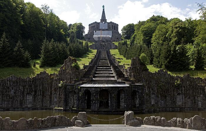 Kassel Bergpark Wilhelmshöhe: Herkules, Oberes und Unteres Wassertheater, Kaskaden, Neptunbrunnen