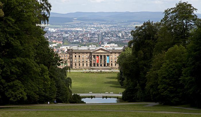 Kassel Bergpark Wilhelmshöhe: Schloss Wilhelmshöhe Wilhelmshöher Allee