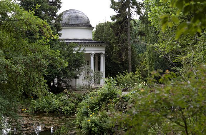 Kassel Bergpark Wilhelmshöhe: Fontänenteich und Jussowtempel