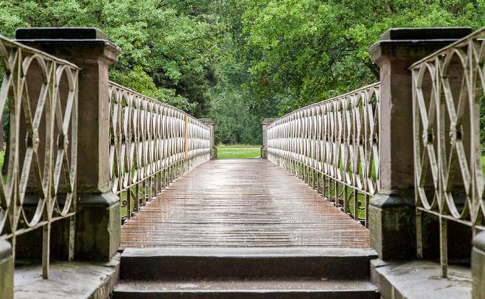 Kassel Karlsaue: Brücke über den Hirschgraben