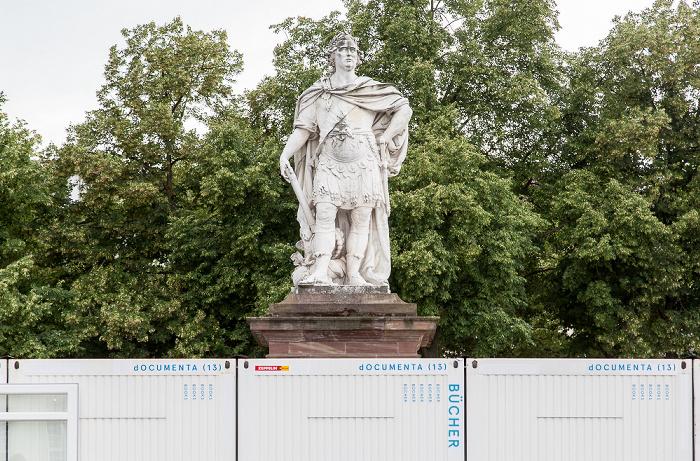 Kassel Friedrichsplatz: Denkmal des Landgrafen Friedrich II.
