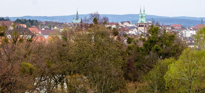 Kassel Blick aus dem InterCityHotel