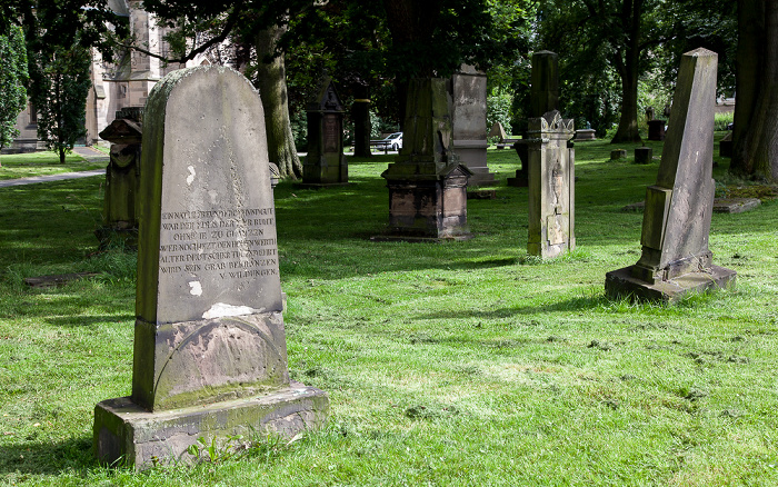 Kassel Lutherplatz: Altstädter Friedhof