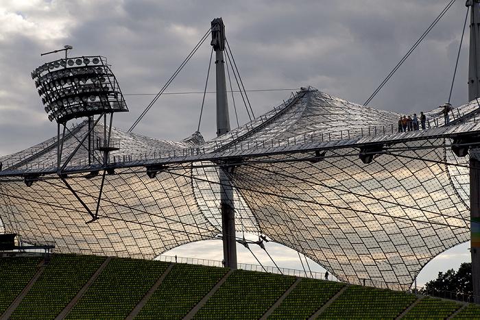 Olympiastadion: Zeltdach München