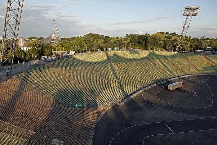 Olympiastadion: Gegengerade München