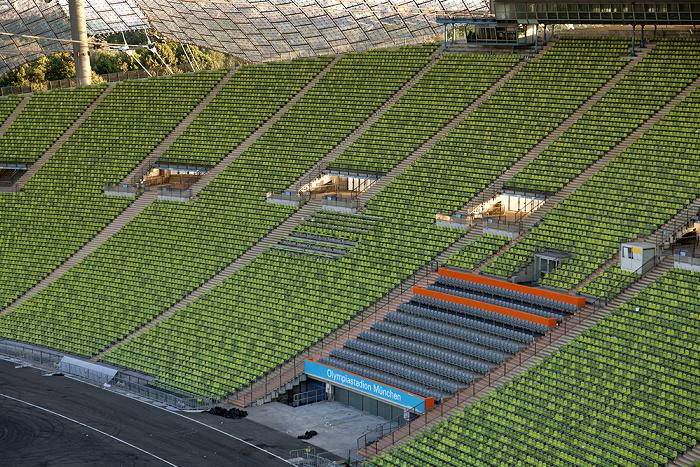 Olympiastadion: Haupttribüne München