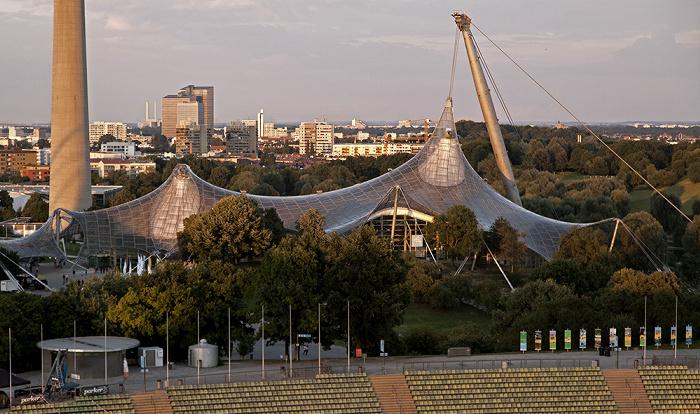 Olympiastadion: Gegentribüne München