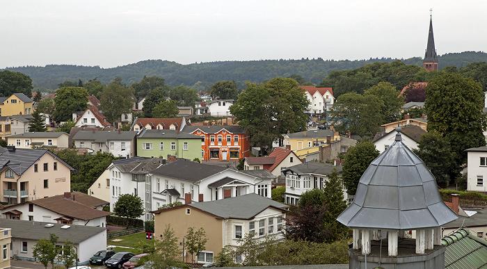 Ahlbeck Blick vom Grand City Strandhotel Ahlbecker Kirche
