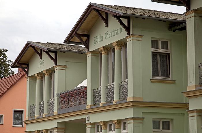 Ahlbeck Kaiserstraße: Villa Gertraud