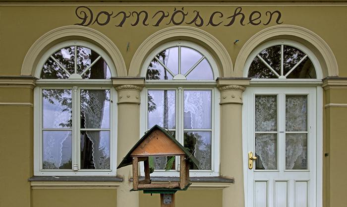 Ahlbeck Kaiserstraße: Dornröschen