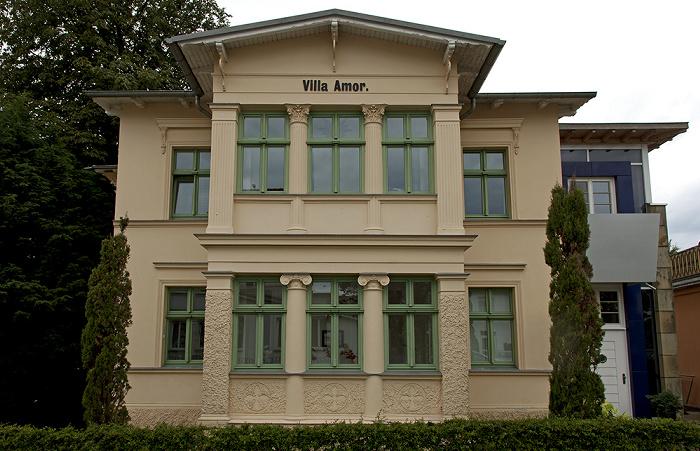 Ahlbeck Kaiserstraße: Villa Amor