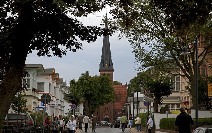 Ahlbeck Kaiserstraße Ahlbecker Kirche