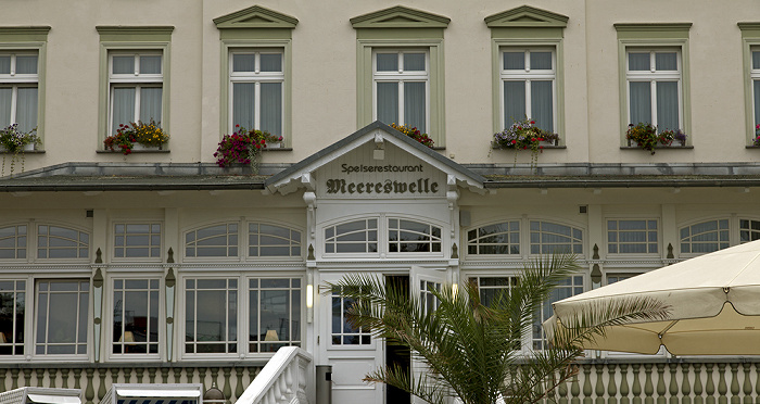 Ahlbeck Seestraße: Restaurant Meereswelle