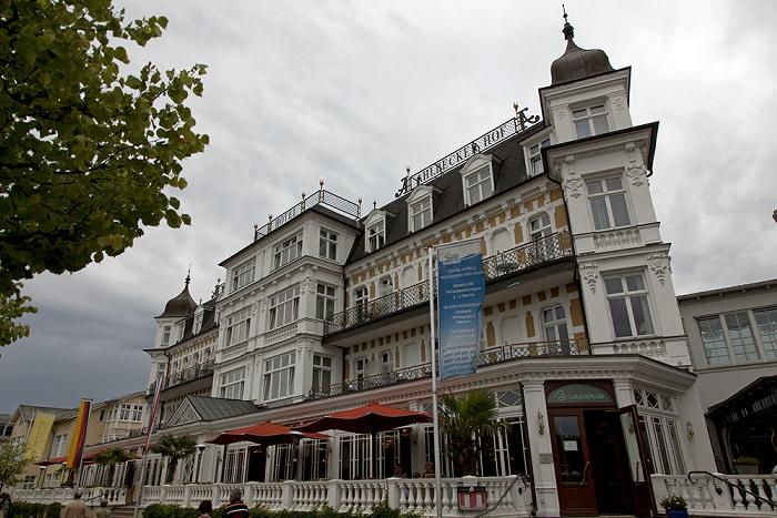 Dünenstraße: Hotel Ahlbecker Hof