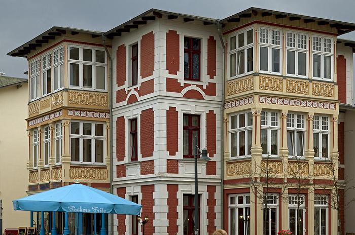 Ahlbeck Dünenstraße: Restaurant Fischers Fritz