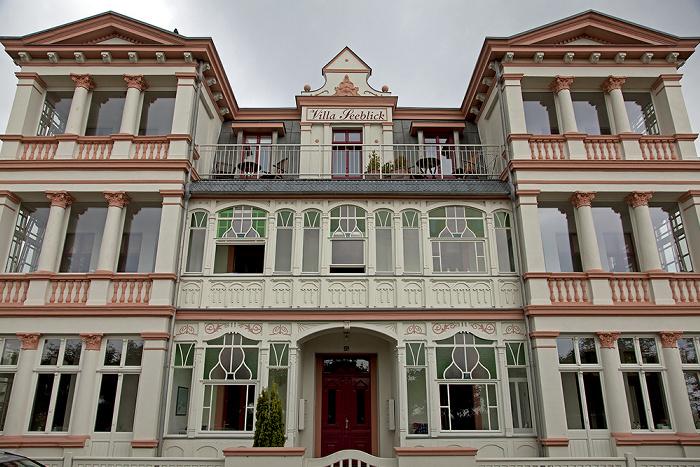 Ahlbeck Dünenstraße: Villa Seeblick