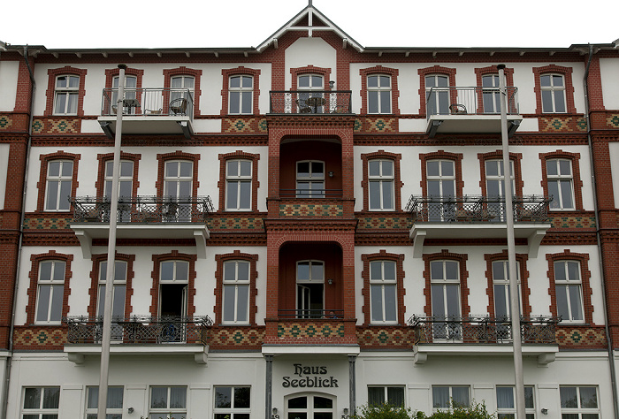 Ahlbeck Dünenstraße: Haus Seeblick
