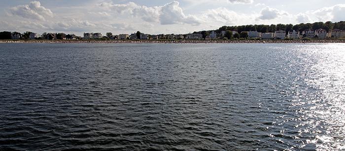 Usedom Schiff Bansin - Heringsdorf - Ahlbeck: Ostsee, Bansin