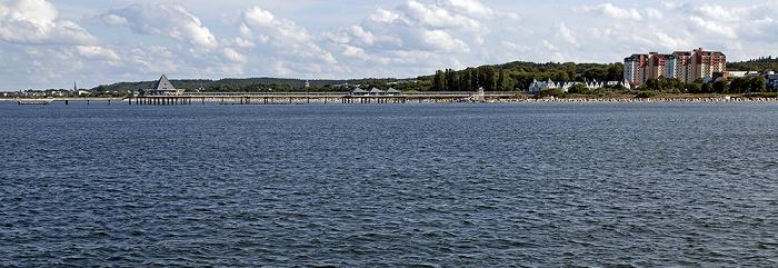 Usedom Schiff Bansin - Heringsdorf - Ahlbeck: Ostsee, Seebrücke Heringsdorf