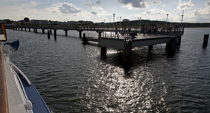 Usedom Schiff Bansin - Heringsdorf - Ahlbeck: Ostsee, Seebrücke Ahlbeck