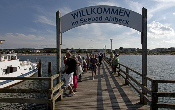 Ahlbeck Seebrücke, Ostsee