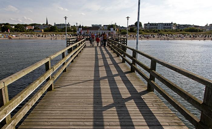 Ahlbeck Seebrücke, Ostsee, Strand