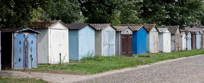 Usedom (Stadt) Karniner Straße: Garagen