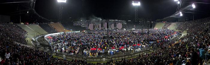 München Olympiastadion: Vor dem Coldplay-Konzert