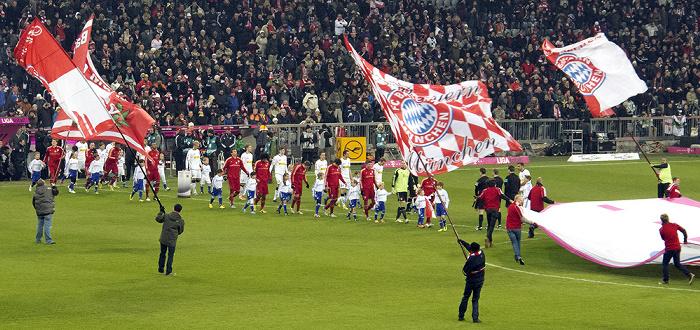 Allianz Arena: Bundesligaspiel FC Bayern München - Borussia Mönchengladbach
