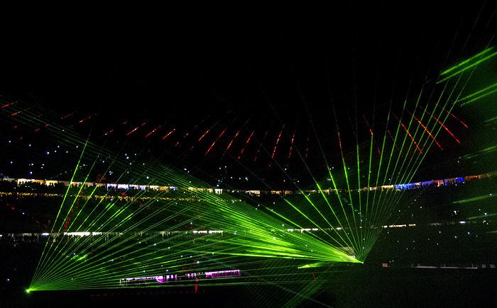 München Allianz Arena: Lasershow FC Bayern München