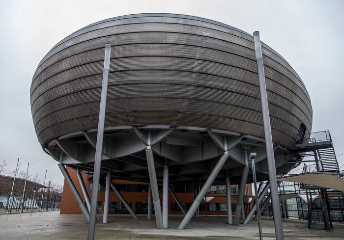 Expo Park Hannover (ehem. EXPO-Ost-Gelände): Planet m EXPO 2000 Deutscher Pavillon EXPO 2000