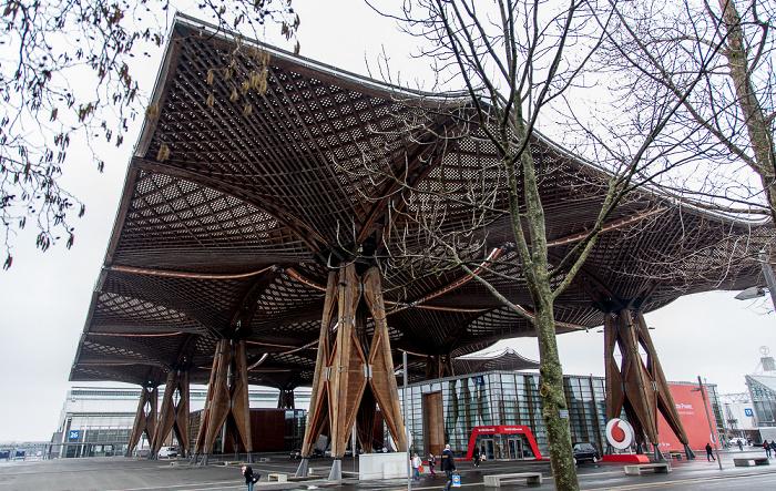 Messegelände Hannover: Expo-Dach EXPO 2000