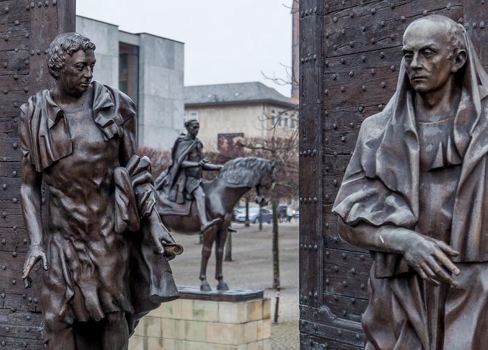Hannover Altstadt: Platz der Göttinger Sieben - Denkmal der Göttinger Sieben