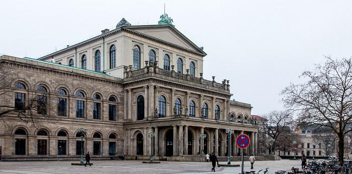 Hannover Altstadt: Opernplatz und Opernhaus