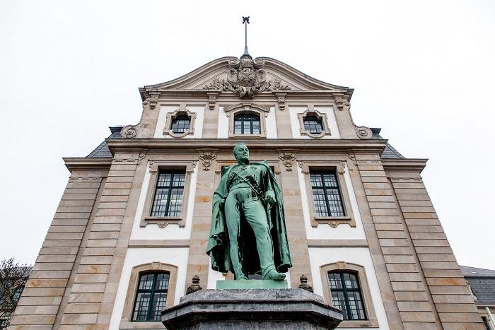 Hannover Calenberger Neustadt: General-von-Alten-Denkmal Hauptstaatsarchiv Hannover