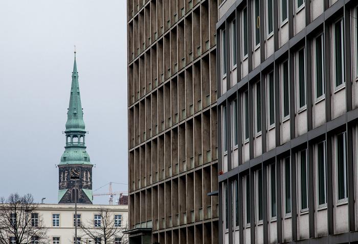 Hannover Calenberger Neustadt: Clemensstraße Kreuzkirche Niedersächsisches Innenministerium Niedersächsisches Wissenschaftsministerium