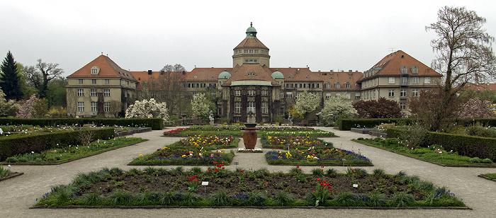 München Botanischer Garten Nymphenburg: Historisches Botanisches Institut, Schmuckhof