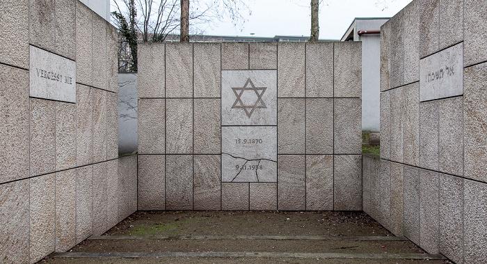 Hannover Calenberger Neustadt: Rote Reihe - Gedenkstätte für die Neue Synagoge