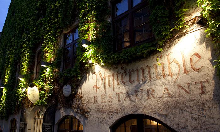 Altstadt: Pfistermühle (ehem. Getreidemühle und Bäckerei der Hofpfisterei) München