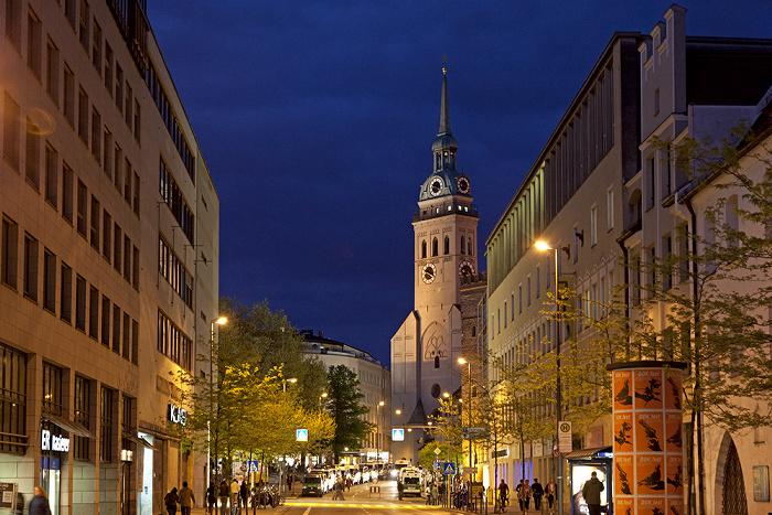 München Altstadt: Oberanger, St. Peter (Alter Peter)