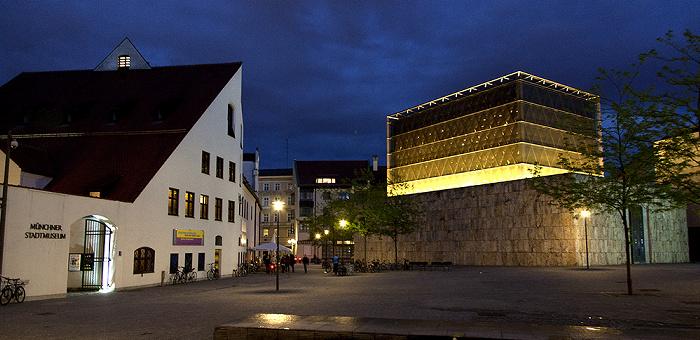 München Altstadt: St.-Jakobs-Platz Hauptsynagoge Jüdisches Zentrum Münchner Stadtmuseum