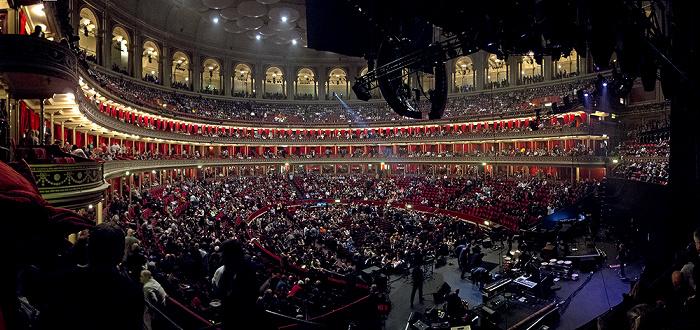 London Royal Albert Hall (vor dem Eric Clapton-Konzert)