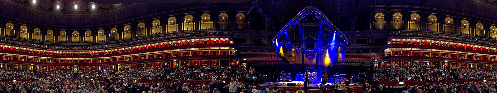 Royal Albert Hall (vor dem Mark Knopfler-Konzert) London