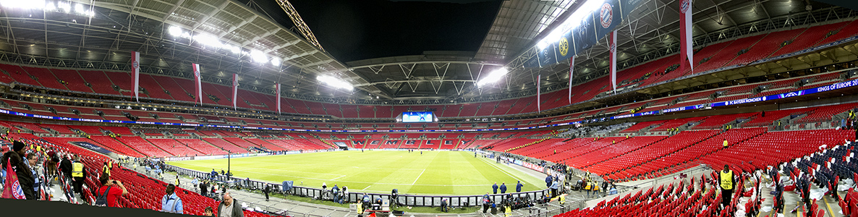 Wembley-Stadion (Wembley Stadium) London