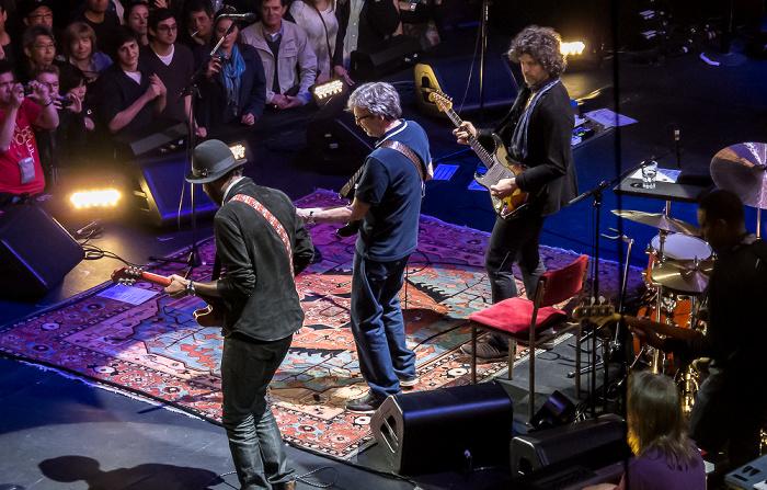 Royal Albert Hall: Eric Clapton London Gary Clark Jr., Eric Clapton und Doyle Bramhall II