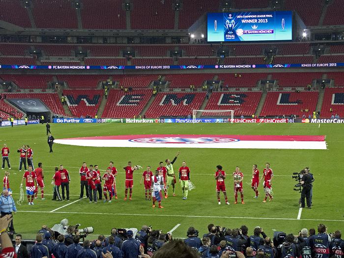 London Wembley-Stadion (Wembley Stadium): UEFA Champions League Finale FC Bayern München - Borussia Dortmund