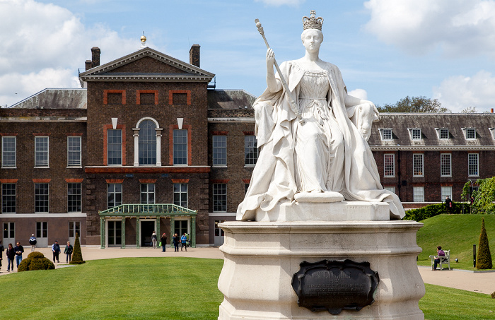 Kensington Gardens: Queen-Victoria-Denkmal London