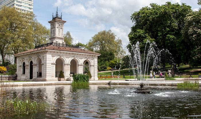 London Hyde Park: Italian Gardens
