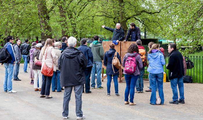 London Hyde Park: Speakers' Corner