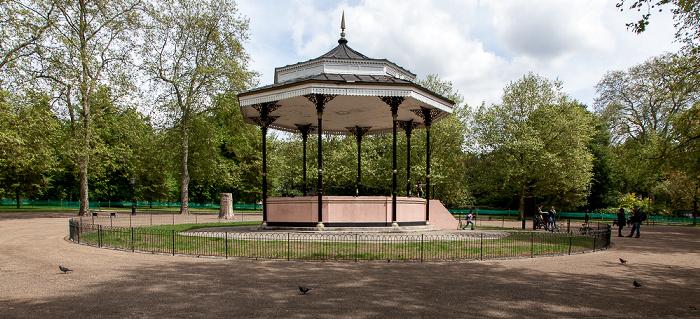 London Hyde Park: Musikpavillon